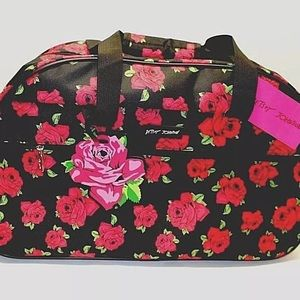 🔥LAST ONE🔥 Betsey Johnson rolling duffle bag